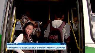 Usuários reclamam das condições do transporte coletivo em Sorocaba
