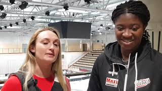 Nici Gilday Intervjuar Rashida Timbilla inför Mark borta