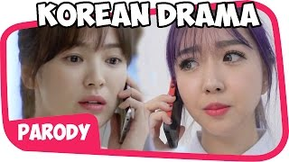 Video Parodi DRAMA KOREA collab with Sunny Dah Ye MP3, 3GP, MP4, WEBM, AVI, FLV Desember 2017