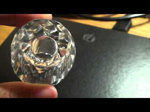 Exquiste OLEG CASSINI Petite Crystal Perfume Bottle NEW (180700586841)