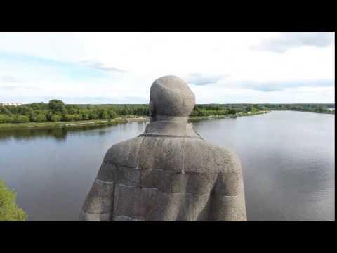 Второй (в мире) по высоте памятник В.И. Ленину