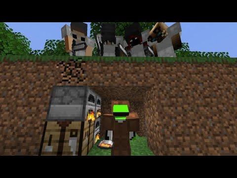 Minecraft Speedrunner VS 4 Hunters FINALE