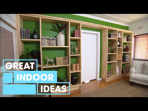 How To Build A Custom Wall Unit   Indoor   Great Home Ideas