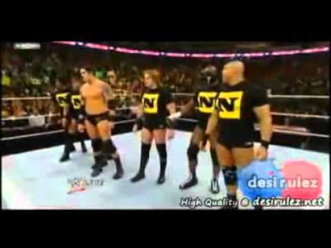 Nexus vs team John cena