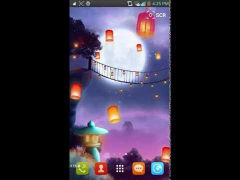 Video of Night Autumn Live Wallpaper