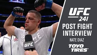 UFC 241: Nate Diaz - I Could See Everything He Was Throwing by UFC