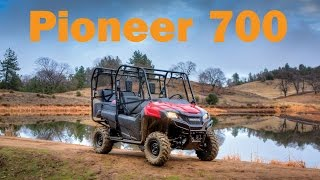 8. 2016 Honda Pioneer 700-4 Test Drive & First Impressions