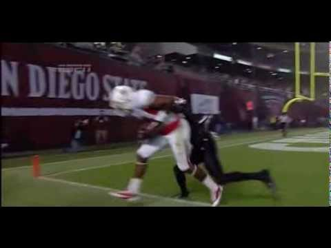 Davante Adams vs Boise St. San Diego St. & Wyoming 2013 video.