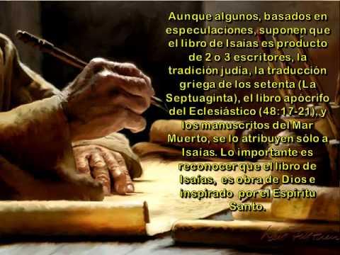 EL PROFETA ISAIAS-serie los profetas-Dr ernesto contreras