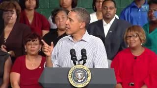 Emporia (VA) United States  city photos gallery : President Obama on the American Jobs Act in Emporia, Virginia