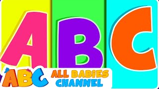 ABC Songs For Children | ABC Phonics Song | Nursery Rhymes | All Babies Channel