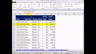 Slaying Excel Dragons Book #4: Table Format Structure For Raw Data&Data Analysis