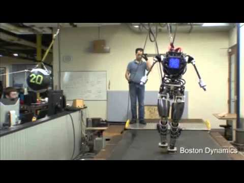 Atlas Robot designed for outdoors created by Boston Dynamics