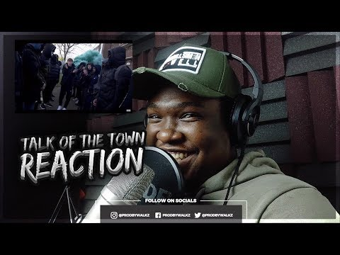 THIS YOUT IS COLD!!! Cillian - Talk Of The Town [Music Video] | Link Up TV (REACTION)