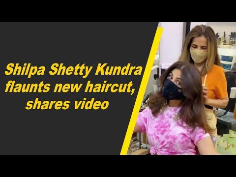 Shilpa Shetty Kundra flaunts new haircut, shares video