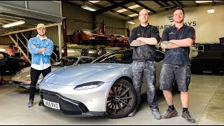 MEET THE TEAM PAINTING MY £200,000 LAMBORGHINI!! by Supercars of London
