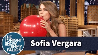 Download Youtube: Sofia Vergara Chats with Jimmy While Sucking Helium