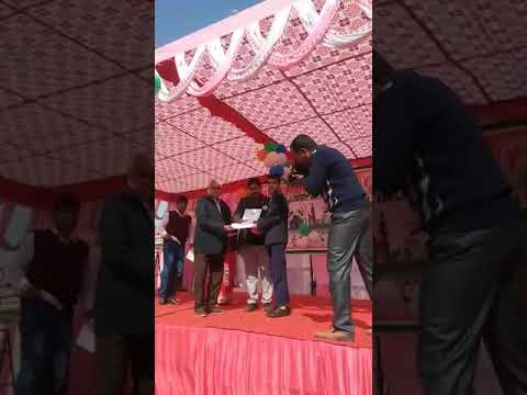 Lakshya Receiving A Prize In Bser Ajmer Rajasthan