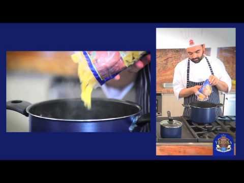 Video - Receta de corbatines con Pastas Verona