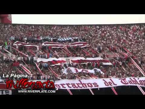 """Video - """"Lo único que quiero es ver a River campeón..."""" River Plate - Los Borrachos del Tablón - River Plate - Argentina"""
