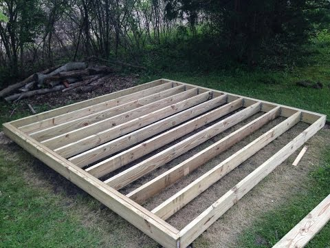 How To Build a Mini Barn - Part One: Foundation