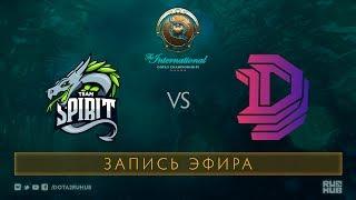 Spirit vs DD, The International 2017 Qualifiers [XBOCT, GodHunt]