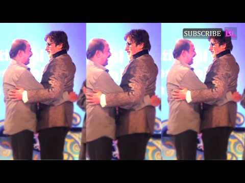 When Amitabh Bachchan blessed Rajinikanth