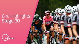 On the penultimate stage of the 100th Giro d'Italia can Vincenzo Nibali and Nairo Quintana take enough time out of Tom Dumoulin before tomorrow's time trial?