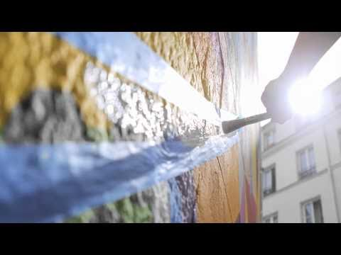 Video: Let's Colour Project – Walls Are Dancing