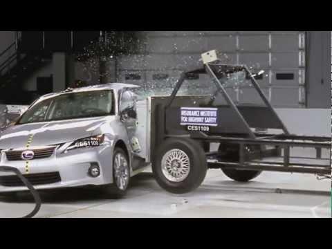 Lexus CT Crash Test 2012 Lexus CT 200h