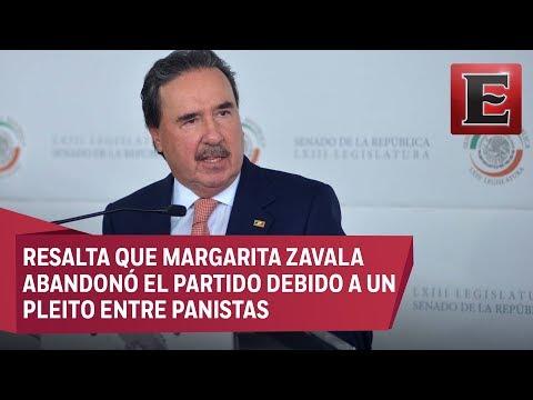 Gamboa Patrón rechaza que el PRI sea responsable de la división del PAN