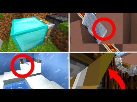 7 CRAZY MINECRAFT GLITCHES!