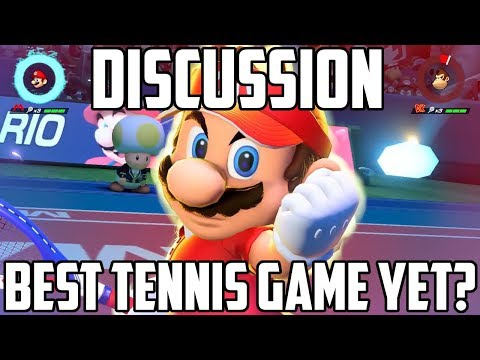 Online Multiplayer & Gameplay That Looks... GOOD!? - Mario Tennis Aces Direct Discussion