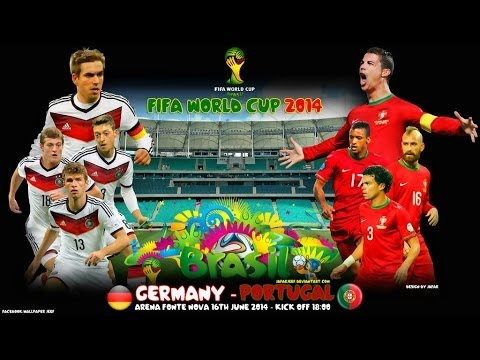 Германия - Португалия [FIFA WORLD CUP 2014 Brazil] Группа G