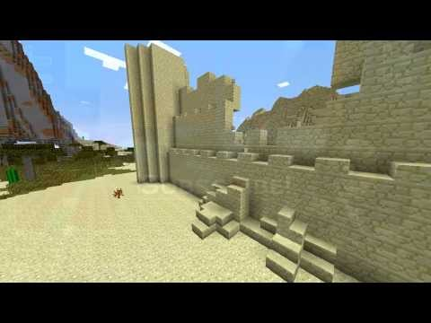Minecraft Building Tips: Walls