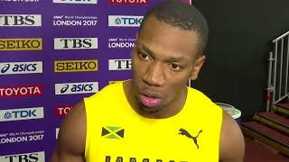 Yohan Blake says long wait for race caused Usain Bolt's injury