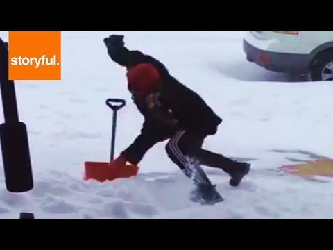 Smešno do suza – Čišćenje snega i klizanje