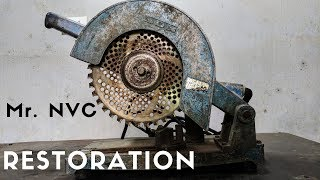 Video Very OLD Steel and Metal Saw Power Tool RESTORATION MP3, 3GP, MP4, WEBM, AVI, FLV Februari 2019