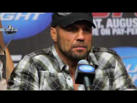 Randy Couture Comments After UFC 118 Win Over James Toney