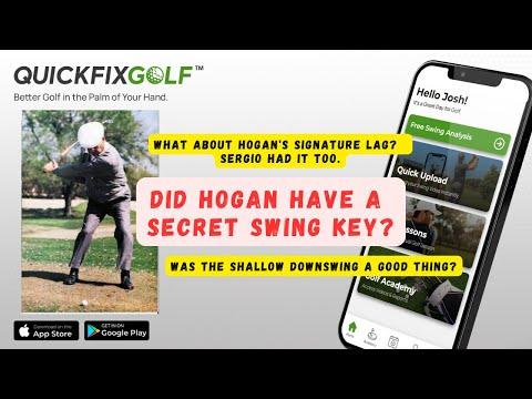 Golf Swing Analysis Online Ben Hogan PGA