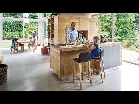 TEAM 7 linee Küche, ark Barhocker, cubus Regal