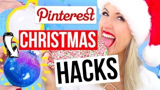 Pinterest HACKS Tested || Christmas 2016 Edition!! by Rachhloves