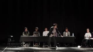 Shutaro vs 獅童 – 全日本大学ストリートダンス選手権 Pop Best8