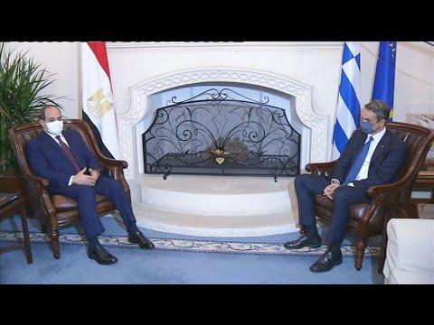 Κ. Μητσοτάκης σε Αλ Σίσι: Οι διαφορές λύνονται με διάλογο και αμοιβαίες υποχωρήσεις
