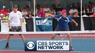 2016 PRO Men's Doubles GOLD Match - Minto US Open Pickleball Championships - CBS Sports Network