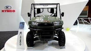 2. 2014 Kymco UXV 700i All Terrain Vehicle Walkaround - 2013 EICMA Milano Motorcycle Exhibition