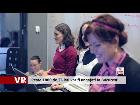 Peste 1000 de IT-iști vor fi angajați la București
