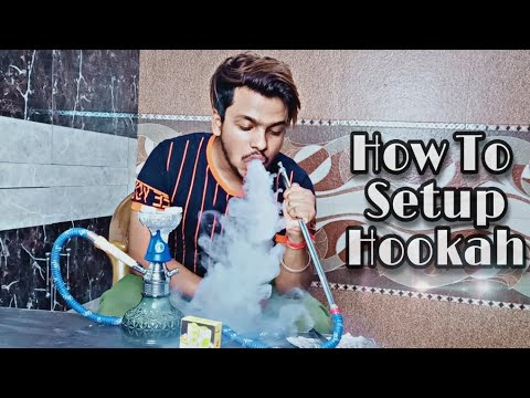 How to Setup Hookah At Home - (tutorial) in Hindi