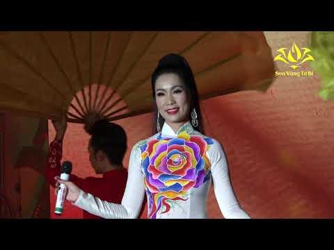 Á Hậu Trịnh Kim Chi góp mặt trong đêm từ thiện cuối cùng với NS hài Anh Vũ (CHÚC XUÂN VUI VẺ) - Thời lượng: 4 phút, 48 giây.