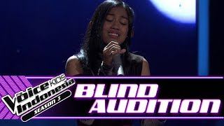 Video Aqiilah - Aku Cuma Punya Hati | Blind Auditions | The Voice Kids Indonesia Season 3 GTV 2018 MP3, 3GP, MP4, WEBM, AVI, FLV Agustus 2018